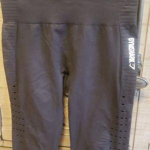 Gymshark Other - 2 Small Gymshark seamless capri leggings
